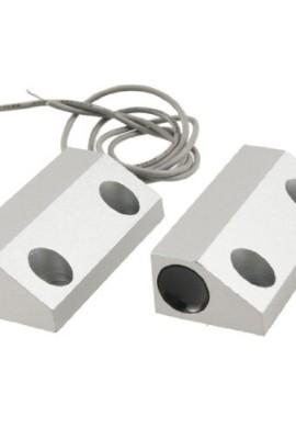 100V-DC-500mA-Metallo-Roller-Persiana-Porta-Magnete-Magnetico-Interruttore-Allarme-0