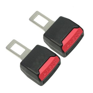 2-Blocca-Gancio-Fibbia-Fermaglio-Chiusura-per-Cintura-Sicurezza-Auto-9x5x3cm-0-0