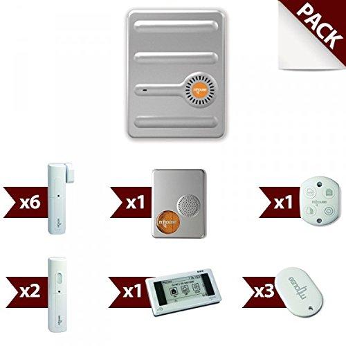 Vendita allarme senza fili gsm casa mhouse kit di 5 - Allarme per casa senza fili ...