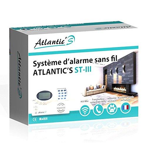 Vendita Atlantic'S ST III KIT 7 - Allarme senza fili per abitazioni