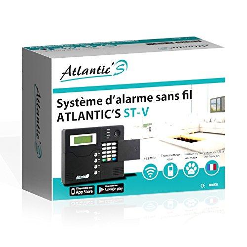 Vendita atlantic 39 s st v kit 5 allarme senza fili gsm - Allarme per casa senza fili ...