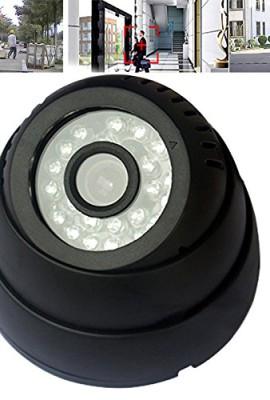 Ckeyin--DVR-Telecamera-Dome-CCTV-di-sicurezza-per-sorveglianza-Visione-Notturna-di-IR-LED-micro-SDTF-Sistema-di-monitoraggio-video-completo-con-registrazione-video-per-interni-Nero-0