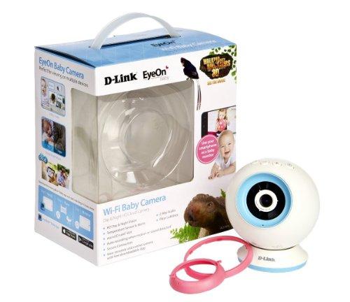 D-Link-DCS-825L-EyeOn-Baby-Monitor-Wi-Fi-con-Mydlink-Cloud-Risoluzione-HD-Slot-per-MicroSD-Sensore-di-Temperatura-Bianco-0-1