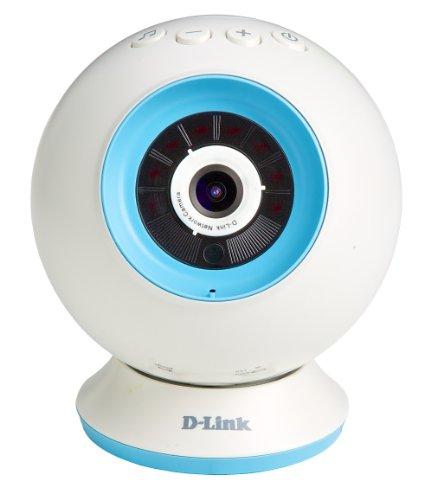 D-Link-DCS-825L-EyeOn-Baby-Monitor-Wi-Fi-con-Mydlink-Cloud-Risoluzione-HD-Slot-per-MicroSD-Sensore-di-Temperatura-Bianco-0