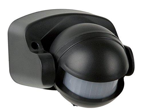 Electraline-58411-Sensore-di-Presenza-di-Movimento-Nero-0-0