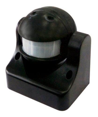 Electraline-58411-Sensore-di-Presenza-di-Movimento-Nero-0