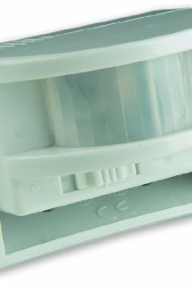 Electraline-58413-Sensore-di-Presenza-con-Allarme-Bianco-0