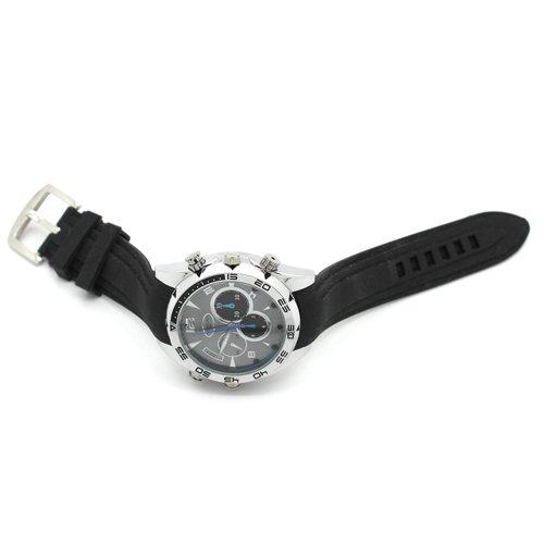 Flylinktech-16GB-HD-Impermeabile-Spy-Watch-Orologio-Spia-Videocamera-Nascosta-Visione-Notturna-Cinturino-Nero-Quadrante-Argento-0-6