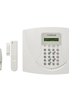 Friedland-SL5F-Response-Premium-Allarme-36-Zone-Wireless-KIT-con-Avvisatore-Telefonico-868-MHz-Bianco-0