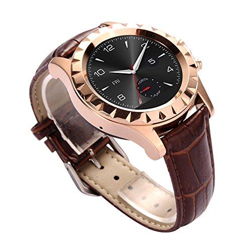 Haehne-NO1-SUN-S2-Bluetooth-Intelligente-Vigilanza-13MP-Telecamere-Dellorologio-per-iOS-Android-Moblie-Smartphone-Cinturino-in-Pelle-Colore-Delloro-0-1