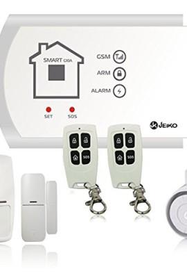 JEIKO-Sistema-dallarme-senza-fili-con-combinatore-telefonico-GSM-integrato-sensore-di-movimento-per-interno-sensore-porta-finestra-telecomando-e-sirena-esterna-Pronto-alluso-0