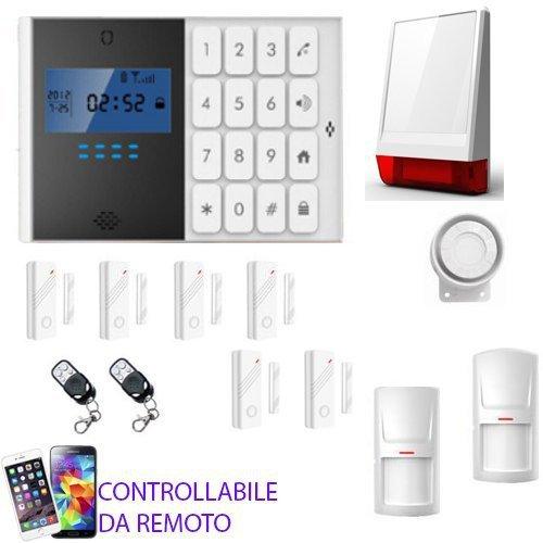 KIT-ANTIFURTO-ALLARME-CASA-NEGOZIO-GARAGE-CAMPER-COMBINATORE-GSM-WIRELESS-CONTROLLO-DA-REMOTO-CON-CELLULARE-0