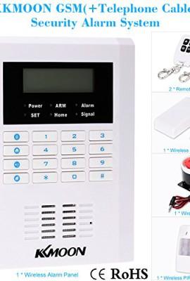 KKmoon-Quattro-4-Bande-GSM-PSTN-Allarme-Senza-Fili-Sistema-Antifurto-per-la-Sicurezza-Domestica-101-Zone-99-Zone-Senza-Fili-e-2-Cablato-Kit-di-Allarme-0