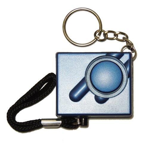 Metallico-Blu-Mini-Minder-Forte-Personale-Personali-Panico-Stupro-Attacco-di-Sicurezza-Sirene-Alarme-140dB-SPEDIZIONE-GRATUITA-0