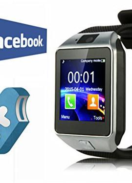 Mobiper-TDW-Smart-Watch-facebook-twitter-Orologio-da-Polso-Intelligente-con-Bluetooth-30-e-Telecamera-Touchscreen-per-AppleiOS-Samsung-Android-HTC-Supporta-Orologio-Smartphone-Sport-SMITF-Nero-0