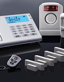 Olympia-Protect-9061-sistema-di-allarme-radio-bianco-GSM-con-sensore-di-movimento-sirena-esterna-contatti-per-portafinestra-e-telecomando-0