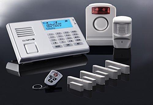 Vendita Olympia Protect 9061, sistema di allarme radio, bianco, GSM, con sensore di movimento ...