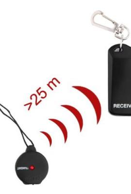 Personal-elettronico-Keychain-Anti-allarme-perso-Safe-Guard-per-Kid-borsa-dellanimale-domestico-del-telefono-cellulare-nero-0