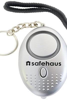 Safehaus-portachiavi-allarme-antiaggressione-140-db-con-torcia-Argento-0