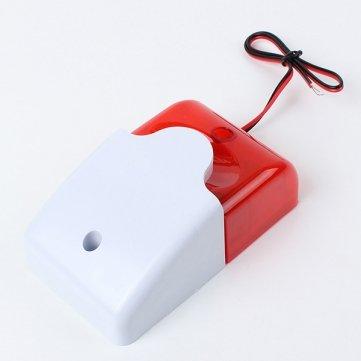 Spedizione-gratuita-712-giorni-12-volt-sirena-luce-allarme-e-di-sicurezza-strobo-12-Volt-Security-Systems-Alarm-Strobe-Light-Siren-0