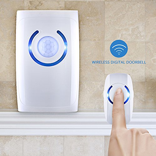 Vendita victsing allarme wireless campanello senza fili for Lampadine led casa
