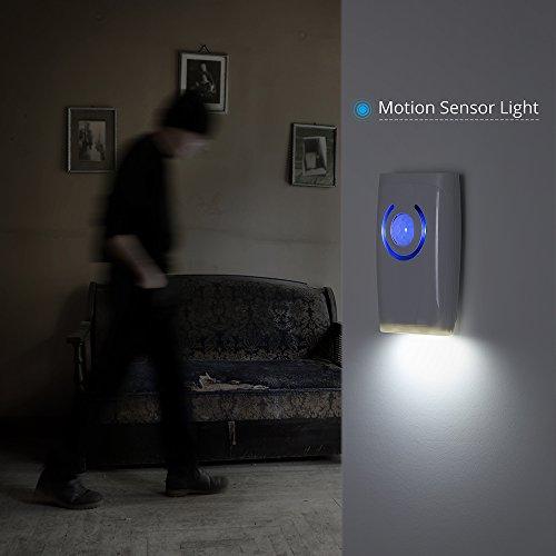 Vendita victsing allarme wireless campanello senza fili con sensore pir con 36 carillon luce - Allarme per casa senza fili ...