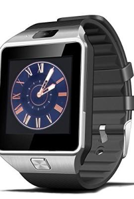 XCSOURCE-2015-Hot-Smart-Watch-DZ09-Orologio-da-Polso-Intelligente-con-Bluetooth-30-NFC-e-Telecamera-Touchscreen-per-AppleiOS-Samsung-Android-HTC-Supporta-Orologio-Smartphone-Sport-SMITF-Nero-AC255-0