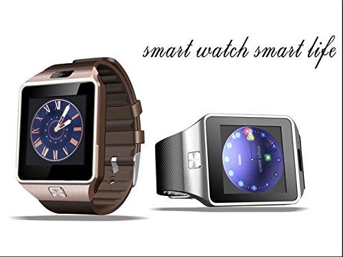 XCSOURCE-2015-Hot-Smart-Watch-DZ09-Orologio-da-Polso-Intelligente-con-Bluetooth-30-NFC-e-Telecamera-Touchscreen-per-AppleiOS-Samsung-Android-HTC-Supporta-Orologio-Smartphone-Sport-SMITF-Nero-AC255-0-3